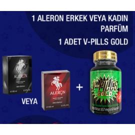 ALERON+1 ADET V-PILLS GOLD