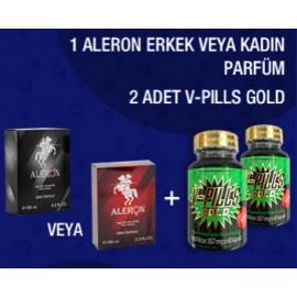 ALERON+2 ADET V-PILLS GOLD