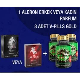 ALERON+3 ADET V-PILLS GOLD